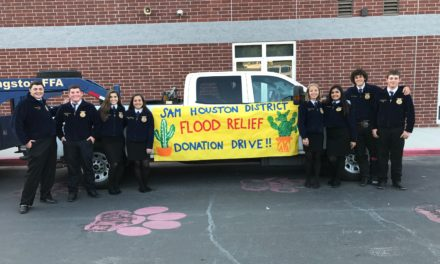 Latexo FFA Collects Donations for Hurricane Relief