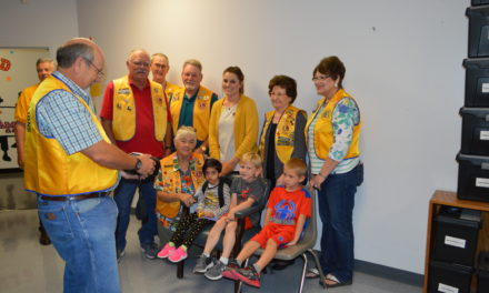 Grapeland and Crockett Lions Partner Together for Vision Screening