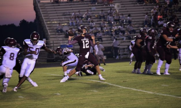 Late TD Lifts Sandies over Lions