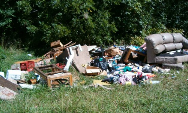 Despite Hurricane, Illegal Dumping is still a Crime