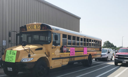 Stuff the Bus Update (Donations accepted until 7 p.m. tonight)