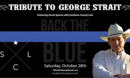 Crockett Back the Blue event to feature Tribute to George Strait, BBQ Cook-off