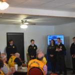 Grapeland FFA Gives Presentation to Lions Club