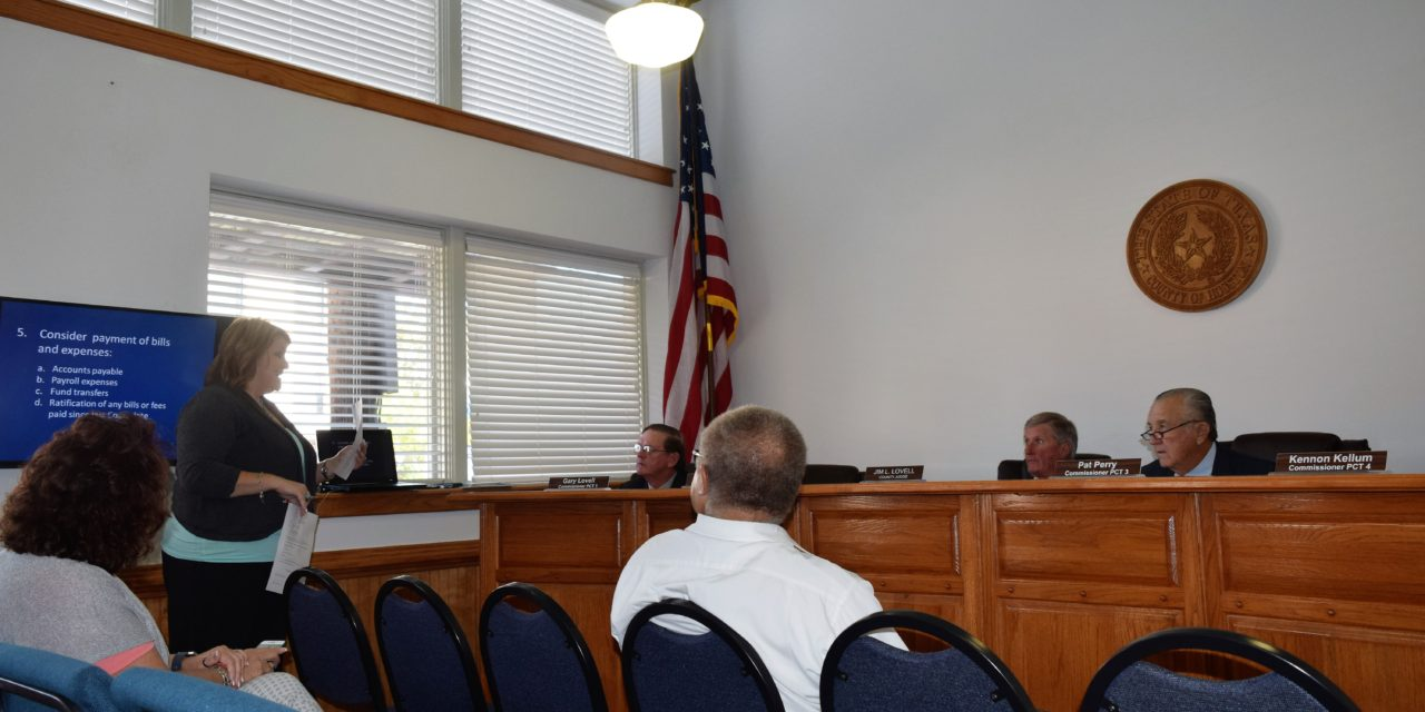 Ho. Co. Commissioners Change Meeting Dates