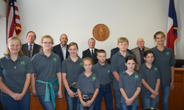 Commissioners Proclaim Oct. 1-7 as National 4-H Week