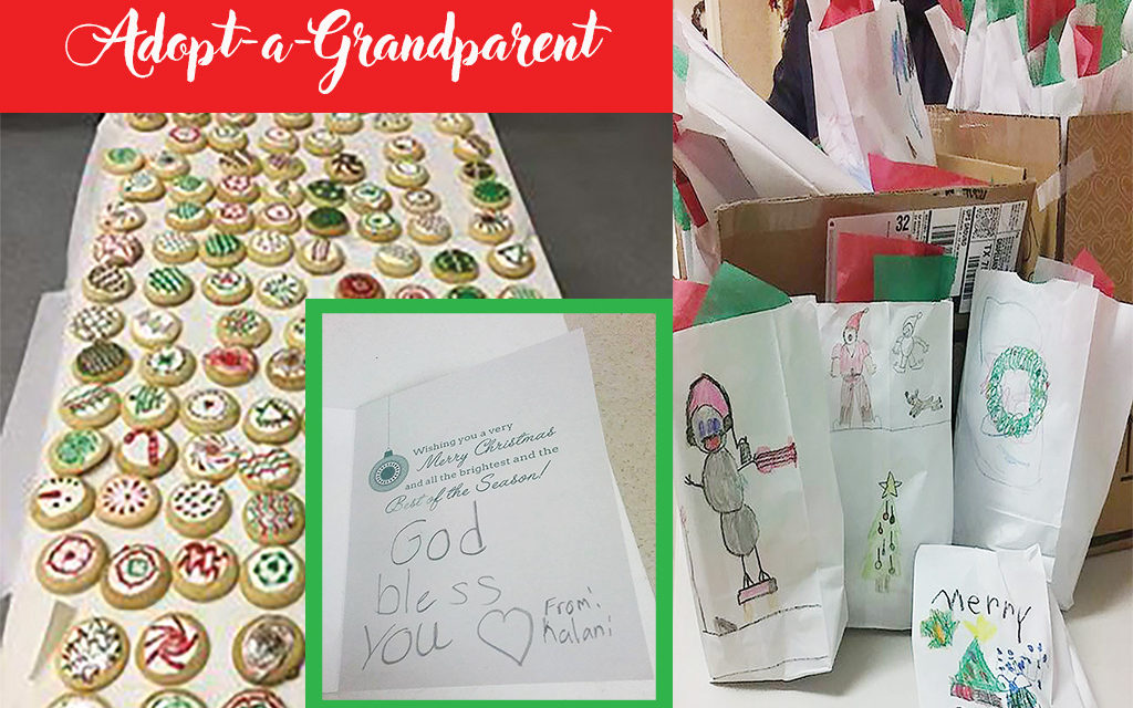 Volunteers Needed to Decorate Cookies for Adopt-a-Grandparent