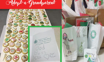Adopt-a-Grandparent: Project Provides Christmas gift for Meals on Wheels recipients