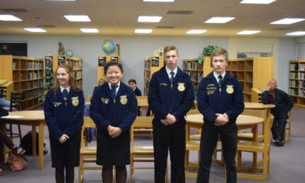 Grapeland ISD Recognizes National FFA Champions