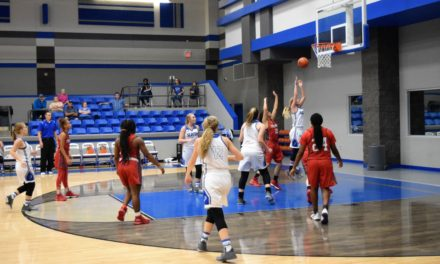 Lady Mustangs Trample Lady Trojans, 72-48