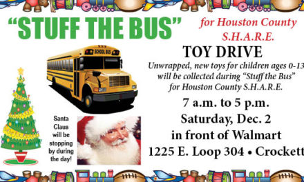 Stuff the Bus for S.H.A.R.E.: Toy Drive to Benefit Local Kids