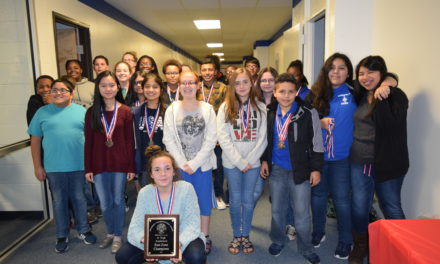 Crockett ISD Recognizes Championship Jr. High UIL Team