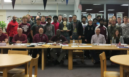 Grapeland ISD School Board Recognizes Football Team