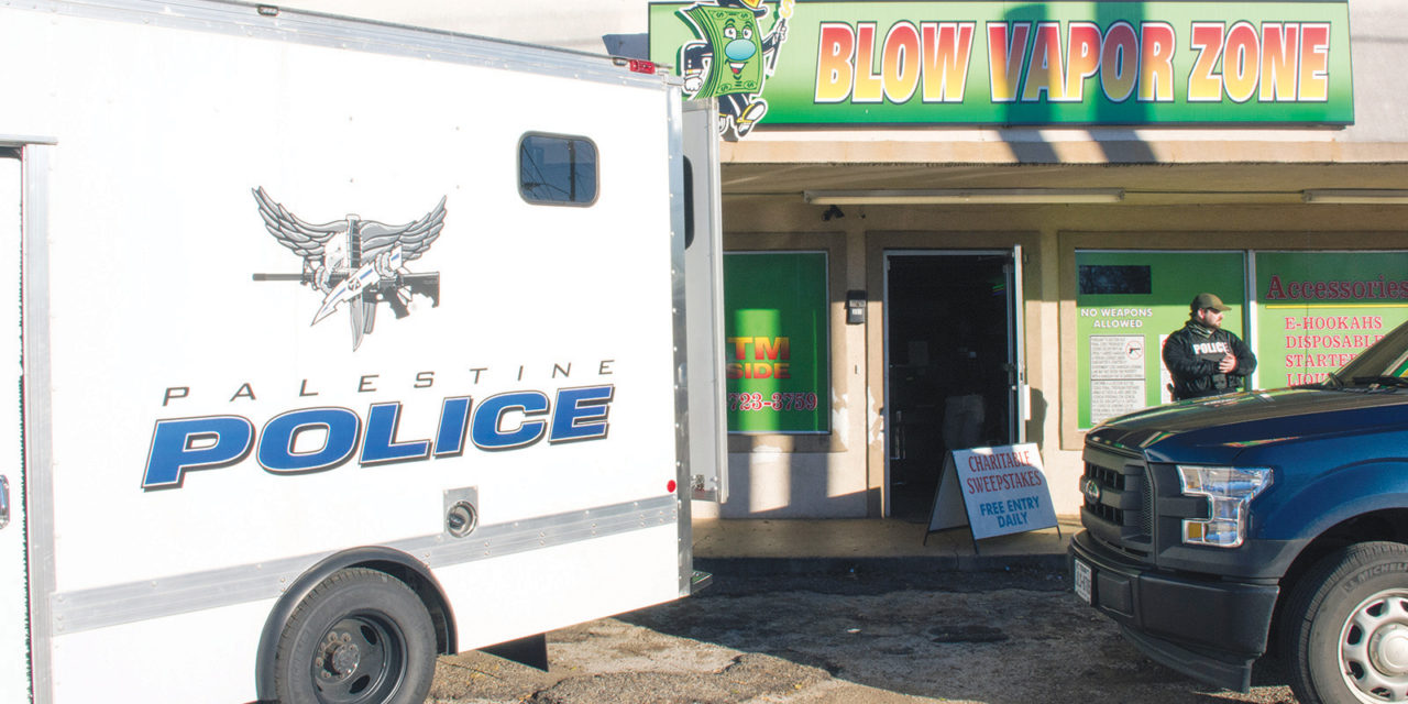 Game Over! Palestine PD Raids Three Illegal Gaming Establishments