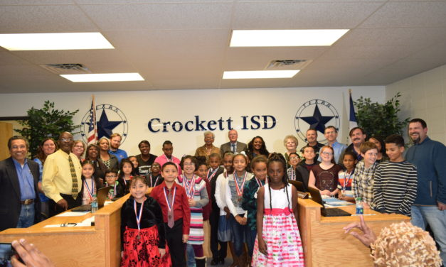 Crockett ISD Recognizes Elementary District UIL Champions