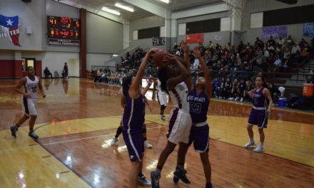 Sandiettes Open Second Half of District Play with 74-21 Win