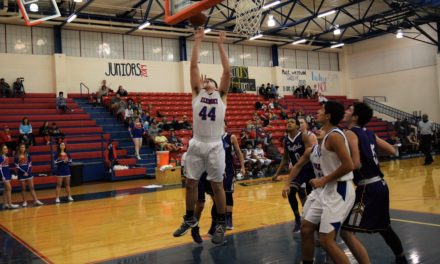 Bison Trample Elks, 68-53