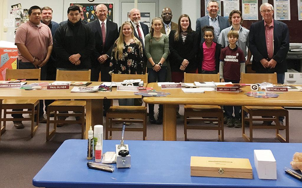 Grapeland ISD Celebrates School Board Appreciation Month