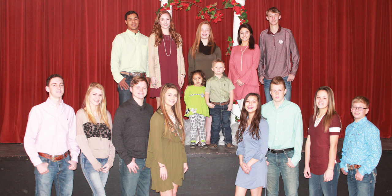 36th Annual Lovelady Lovefest Coronation Court Selected