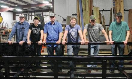 Grapeland Ag Students Finish First Gooseneck Trailer