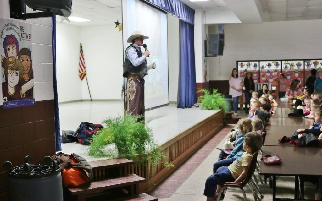 Campbell Returns to Lovelady to Talk Rodeo