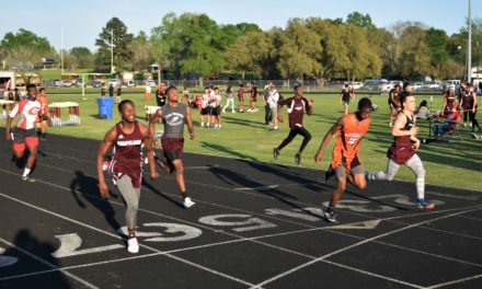 Local Teams Compete in Lovelady Track Meet