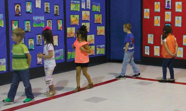 Elkhart Elementary Holds Annual Art Show