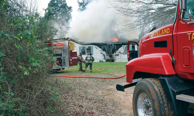 Grapeland House Fire Caused by Smoking