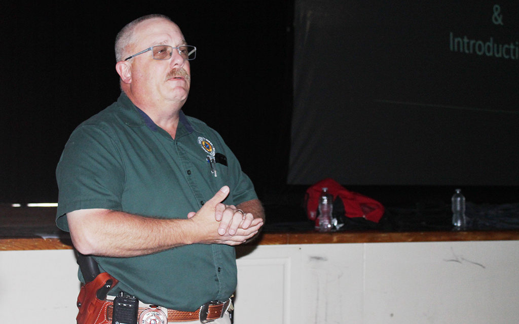 Avoid. Deny. Defend: Grapeland ISD Staff Partakes in Active Shooter Training