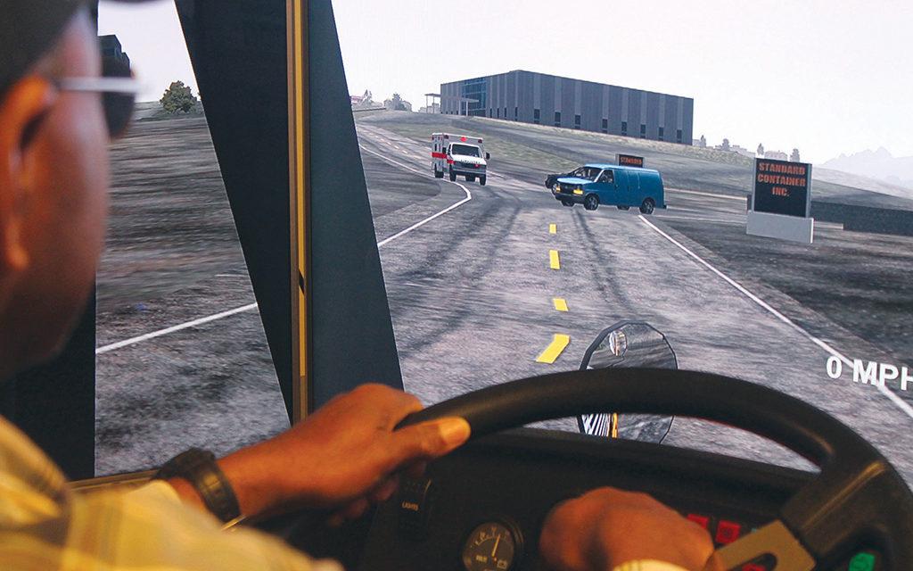 Crockett ISD Bus Drivers Complete Simulation Training