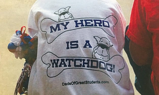 Elkhart Elementary School Has  Watch D.O.G.S. on Campus!