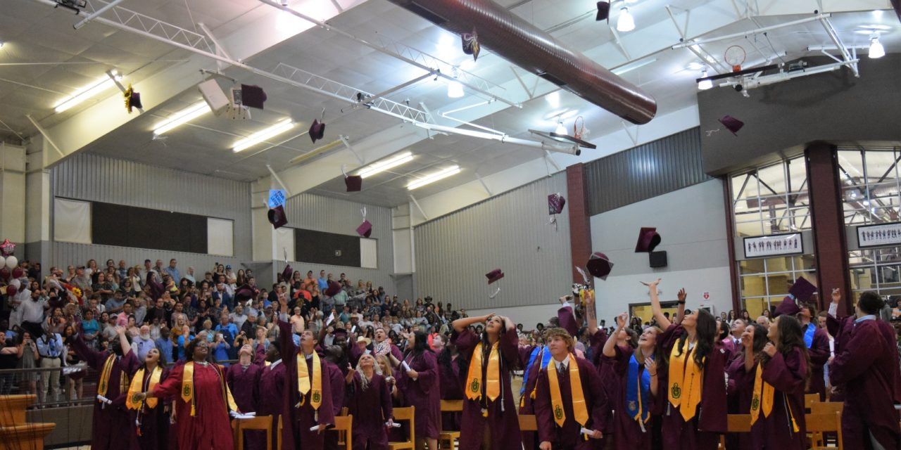 Class of 2018 Graduates from Grapeland High