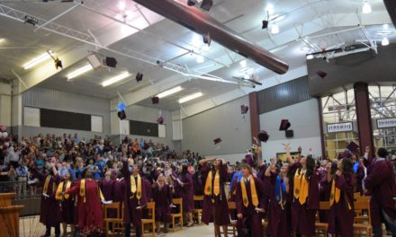 Class of 2018 Graduates from Grapeland High