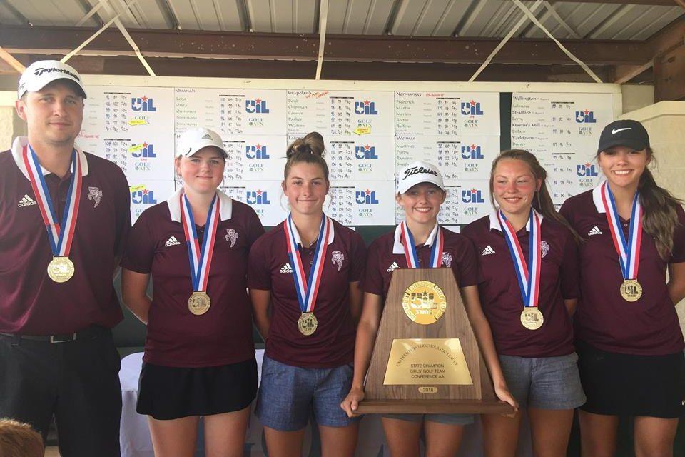Sandiettes Claim State Championship in Golf