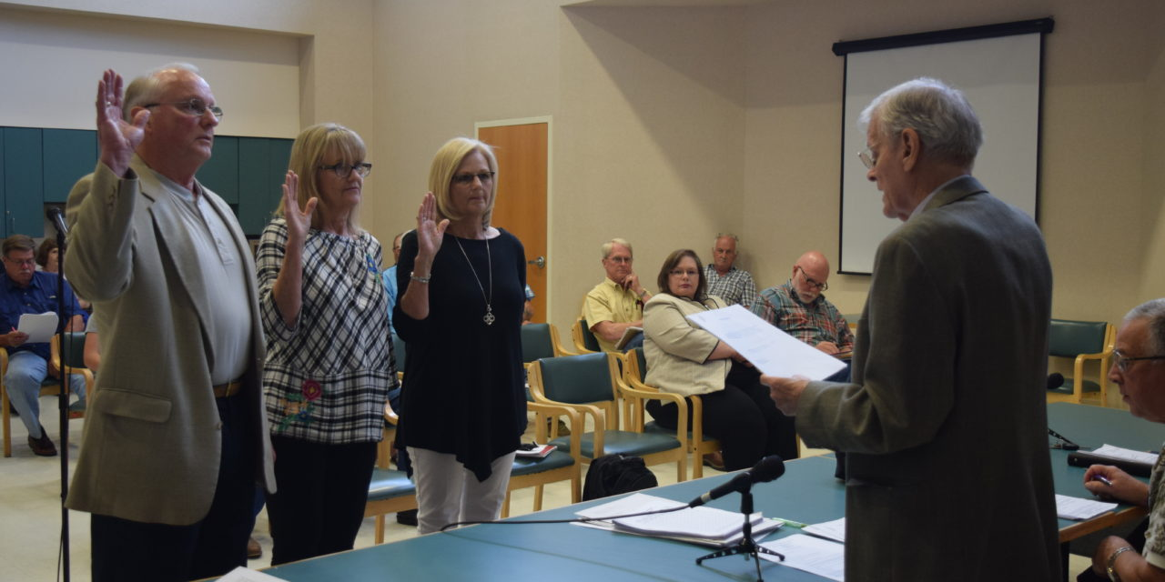 New Board Members Sworn-in to HCHD