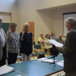 New Board Members Sworn-in to HCHD
