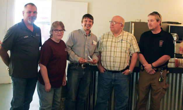 City of Grapeland Thanks Chapman for Six Years of Service