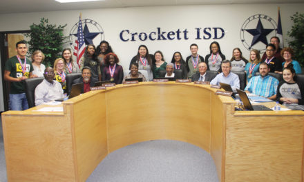 Crockett ISD Recognizes Academic UIL Participants
