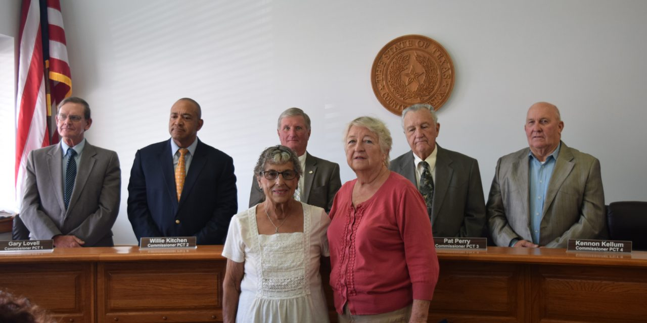 HCHC Recognized by Ho. Co. Commissioners