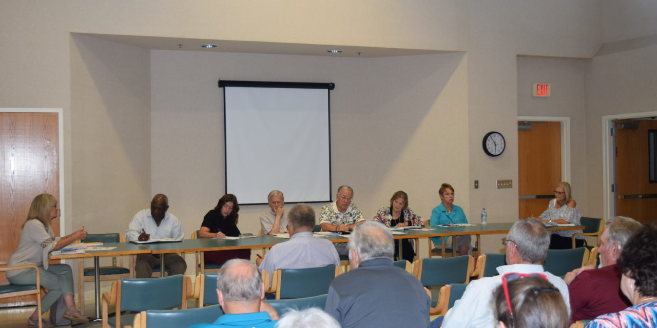 HCHD Holds Fiery Meeting