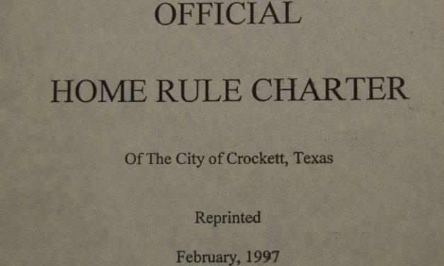 Crockett City Charter Revision Stalls