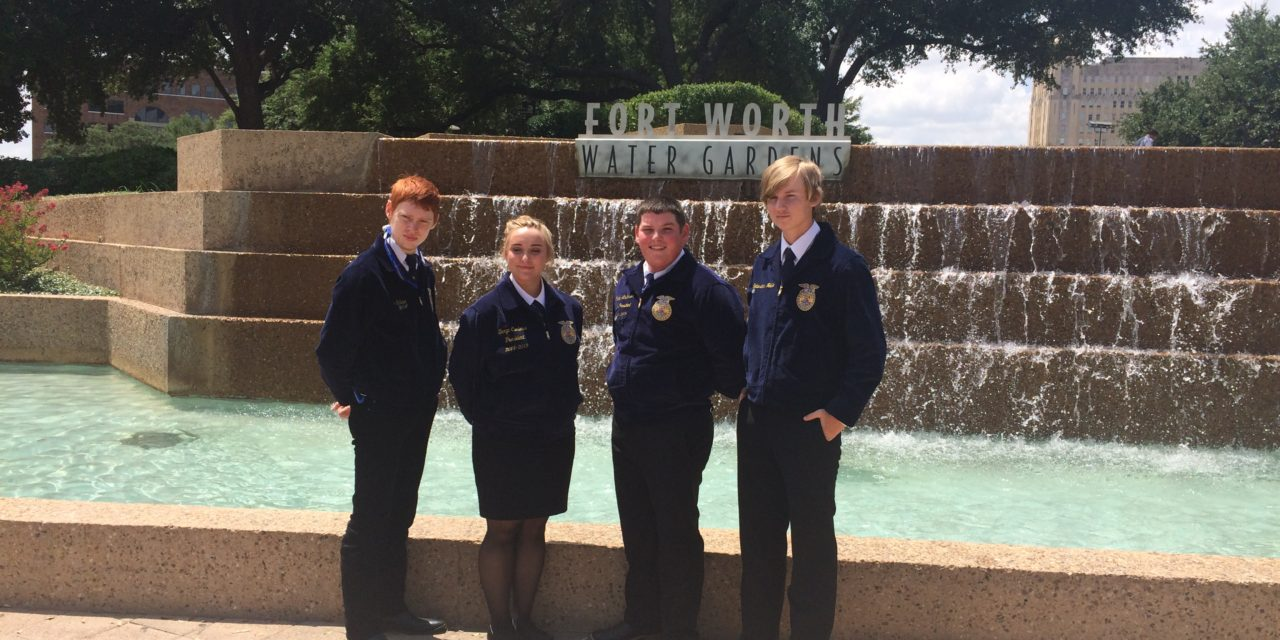 Latexo FFA Attends State Convention