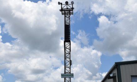 Vulcraft Installs Severe Weather Siren