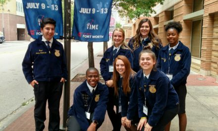 Grapeland FFA Attends State Convention