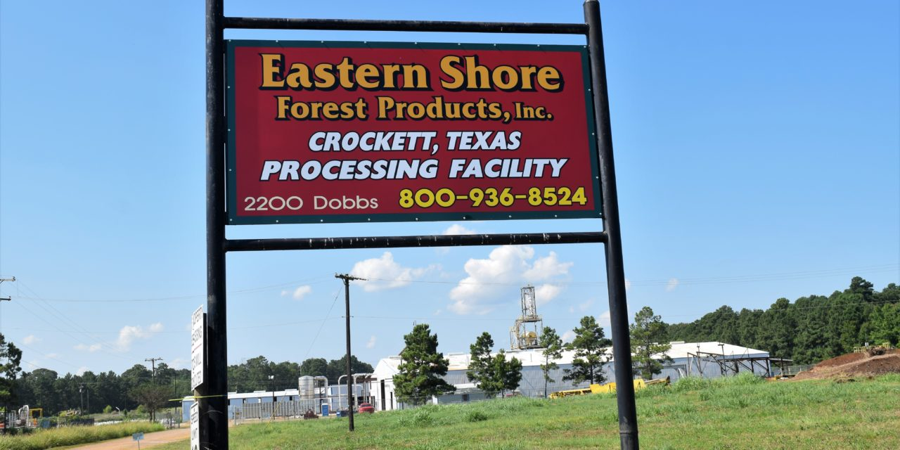 Eastern Shore Forest Products Opening Soon in Crockett