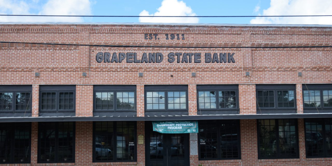 Changes in Store for Grapeland State Bank