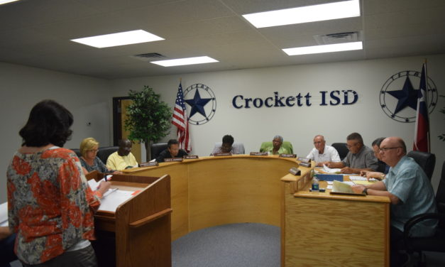 Crockett ISD Projects Budget Shortfall in 2018-2019