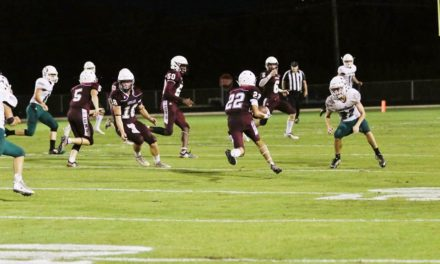 Lovelady Blows Out Normangee, 66-15