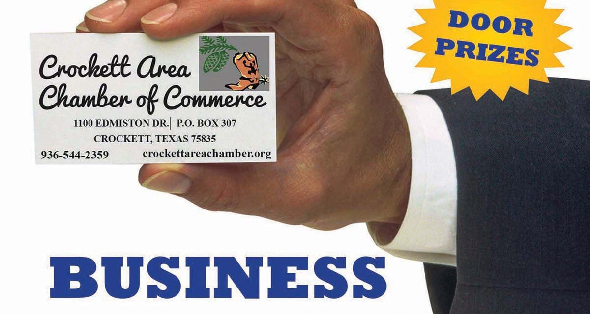 Crockett Area Chamber to Host Business Expo on Thursday, Oct. 25