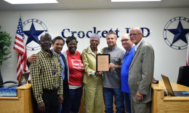 Crockett ISD Says Goodbye to Longtime Board Member