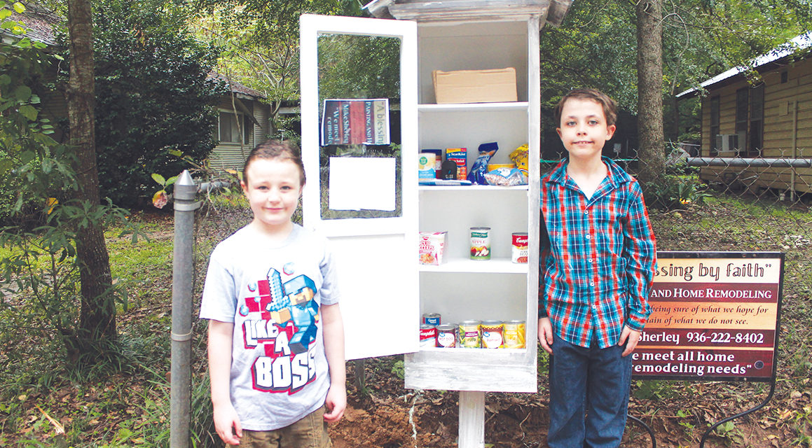 Crockett Brothers Initiate Blessing Box